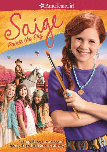 An American Girl: Saige Paints the Sky, Movie on DVD, Family