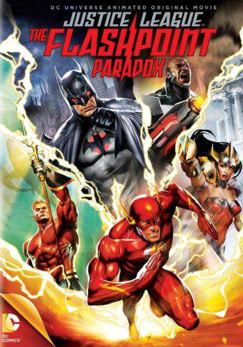 Justice League: The Flashpoint Paradox, Movie on DVD, Action Movies, Animation