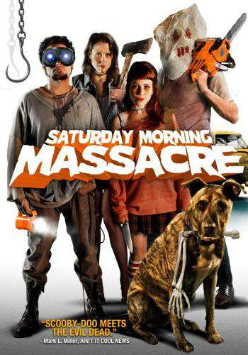 Saturday Morning Massacre, Movie on DVD, Comedy Movies, Horror