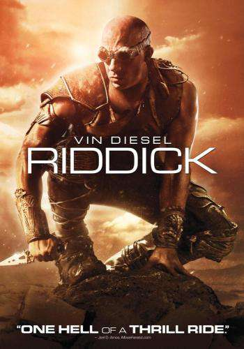 Riddick, Movie on DVD, Action Movies, Sci-Fi & Fantasy