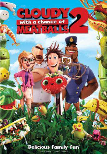 Cloudy With a Chance of Meatballs 2, Movie on DVD, Family Movies, Kids