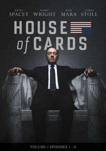 House Of Cards (Episodes 1 - 6), Movie on DVD, Drama