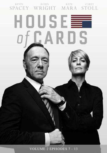 House of Cards (Episodes 7 - 13), Movie on DVD, Drama