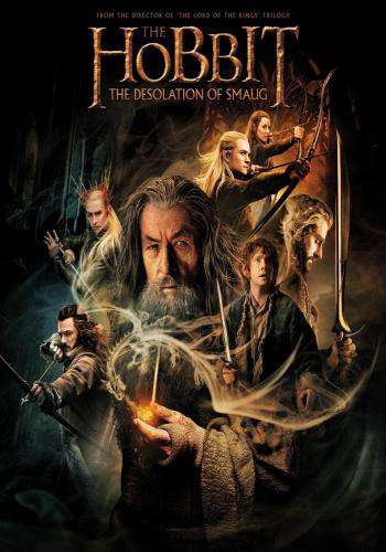 The Hobbit: The Desolation of Smaug, Movie on DVD, Action Movies, Adventure