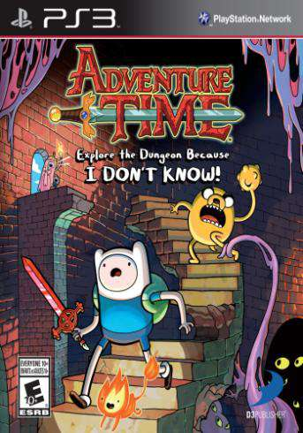Adventure Time: Explore the Dungeon Because I DON'T KNOW!, Game on PS3, Action