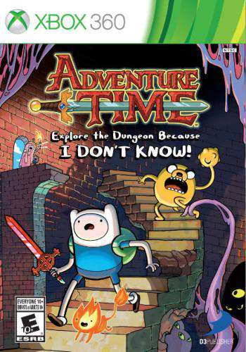 Adventure Time: Explore the Dungeon Because I DON'T KNOW!, Game on XBOX360, Action
