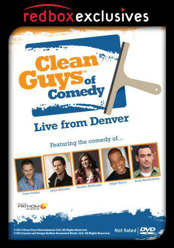Clean Guys of Comedy Live From Denver, Movie on DVD, Comedy