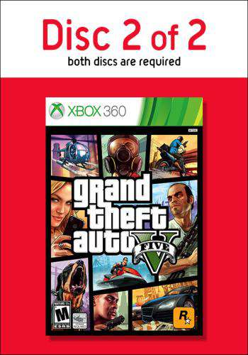 Grand Theft Auto V - Disc 2, Game on XBOX360, Action