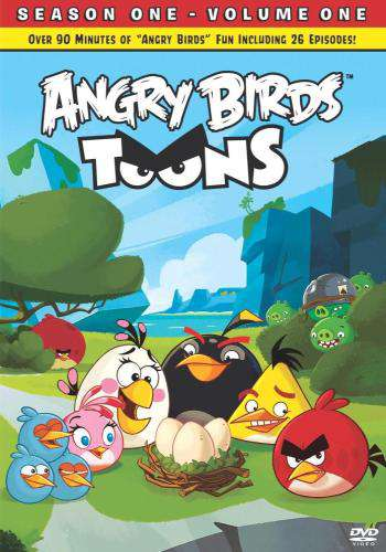 Angry Birds:  Season 1 - Volume 1, Movie on DVD, Family Movies, Kids