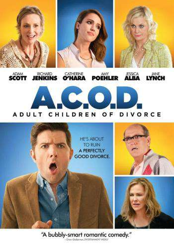 A.C.O.D. (Adult Children of Divorce), Movie on DVD, Comedy