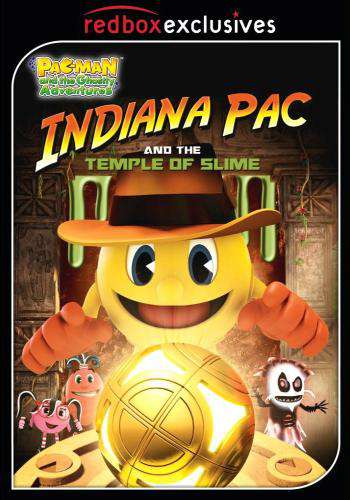 PAC-MAN and the Ghostly Adventures: Indiana Pac and the Temple of Slime, Movie on DVD, Family Movies, Kids