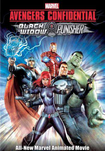 Avengers Confidential: Black Widow & Punisher, Movie on DVD, Action Movies, Adventure