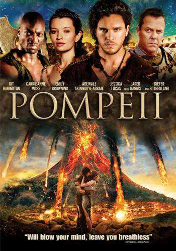 Pompeii, Movie on DVD, Action Movies, Adventure