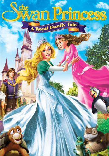 The Swan Princess: A Royal Family Tale, Movie on DVD, Family Movies, Kids