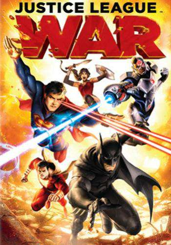 DCU Justice League: War, Movie on DVD, Action Movies, Animation