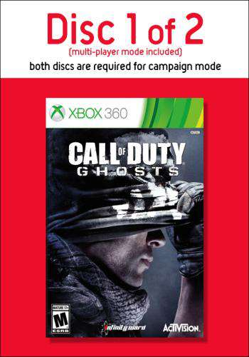 Call of Duty: Ghosts-Disc 1, Game on XBOX360, Shooter