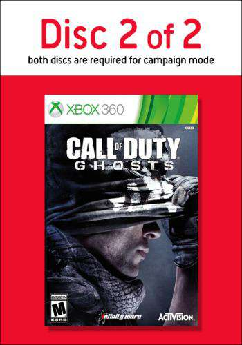 Call of Duty: Ghosts-Disc 2, Game on XBOX360, Shooter