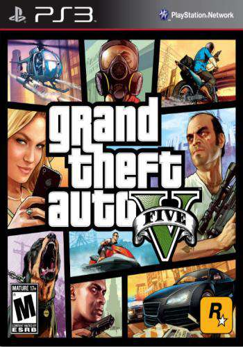 Grand Theft Auto V, Game on PS3, Action
