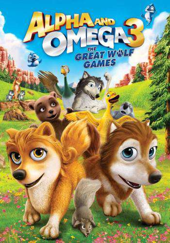 Alpha And Omega 3: The Great Wolf Games, Movie on DVD, Family Movies, Kids
