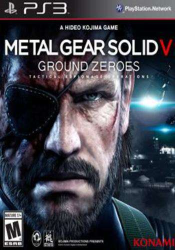 Metal Gear Solid V: Ground Zeroes, Game on PS3, Action