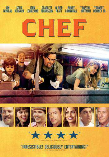 Chef, Movie on DVD, Comedy