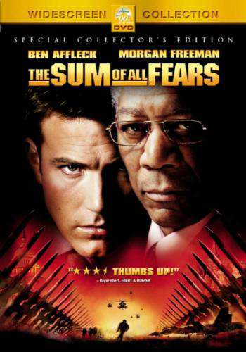 The Sum Of All Fears (2002), Movie on DVD, Action Movies, Suspense