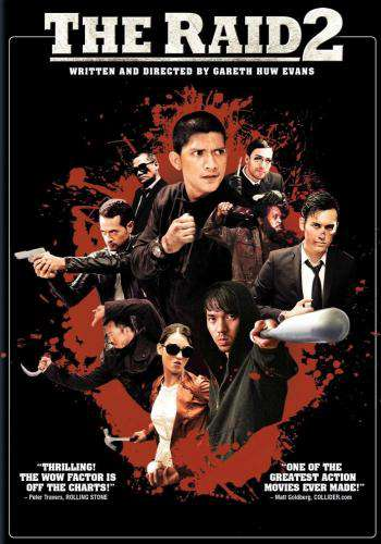 The Raid 2, Movie on DVD, Action