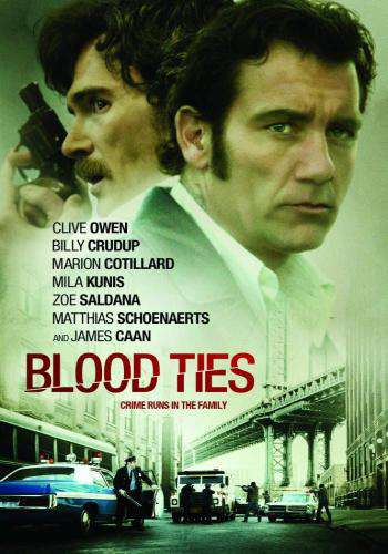Blood Ties, Movie on DVD, Action Movies, Suspense