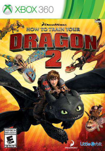How to Train Your Dragon 2, Game on XBOX360, Family
