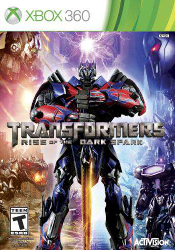 Transformers Rise of the Dark Spark, Game on XBOX360, Action