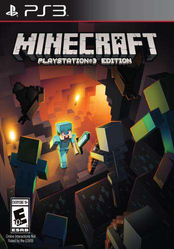 Minecraft, Game on PS3, Action