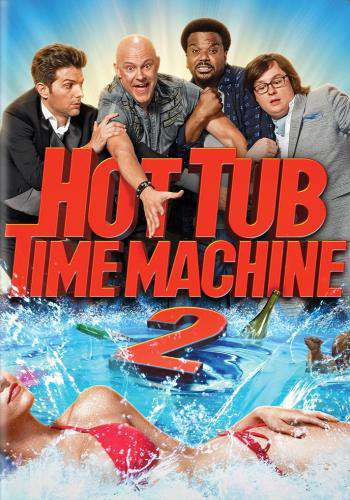 Hot Tub Time Machine 2, Movie on DVD, Comedy Movies, new movies, new movies on DVD