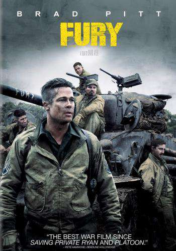 Fury, Movie on DVD, Action Movies, War & Western Movies, new movies, new movies on DVD