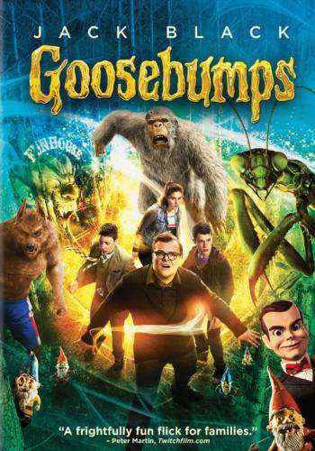 Goosebumps, Movie on Blu-Ray, Family Movies, Adventure Movies, new family movies, new family movies on Blu-Ray