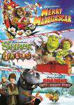 Merry Madagascar / Shrek the Halls / Dragons Gift Of The Night Fury, Movie on DVD, Family