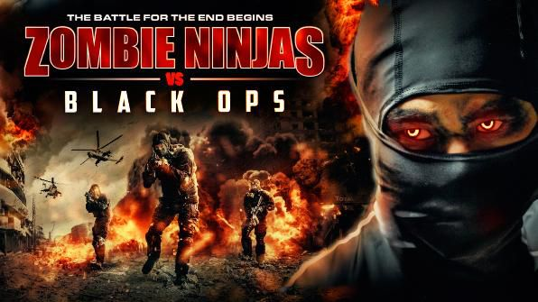 Zombie Ninjas vs Black Ops, Movie on DVD, Action Movies, Horror