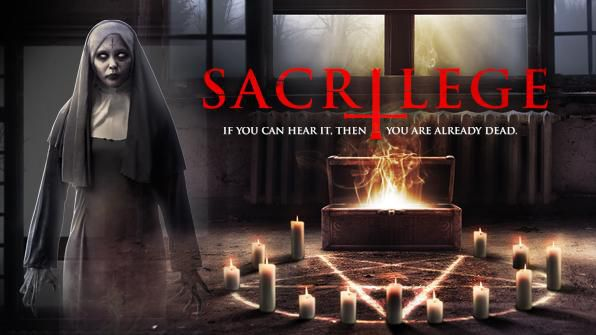 Sacrilege, Movie on DVD, Horror