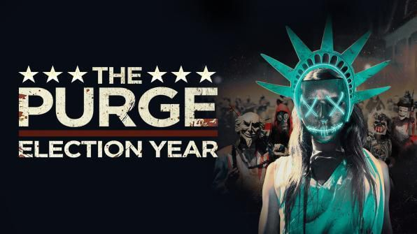 The Purge: Election Year, Movie on DVD, Horror Movies, Thriller & Suspense
