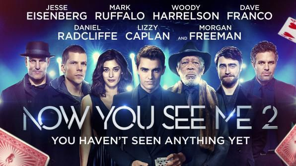 Now You See Me 2, Movie on BluRay, Action Movies, Suspense