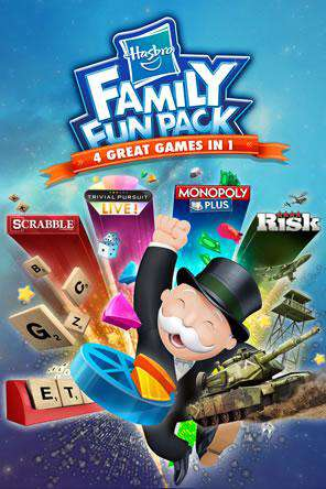 Hasbro Family Fun Pack, Game on PS4, Family