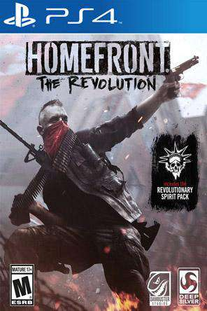 Homefront: The Revolution, Game on PS4, Shooter