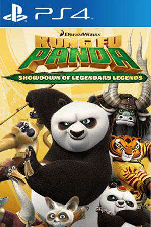 Kung Fu Panda: Showdown of Legendary Legends, Game on PS4, Family