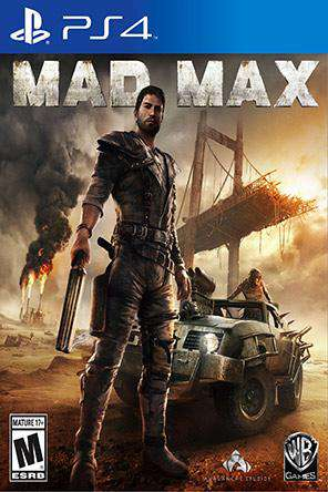 Mad Max, Game on PS4, Action
