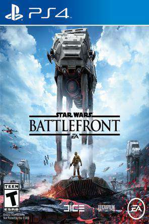 Star Wars: Battlefront, Game on PS4, Shooter