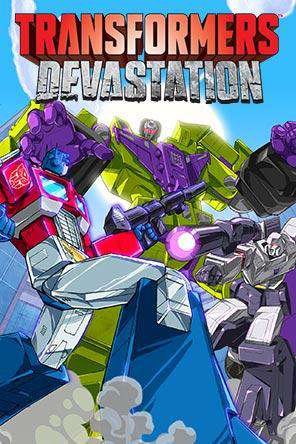Transformers Devastation, Game on PS4, Sports