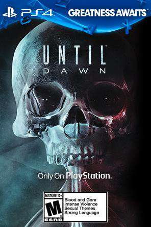 Until Dawn, Game on PS4, Action