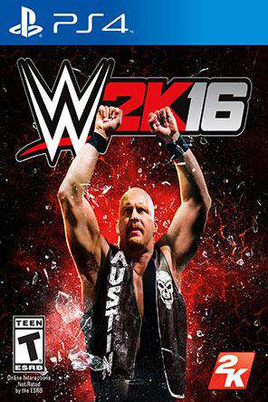 WWE 2K16, Game on PS4, Fighting