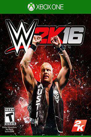 WWE 2K16 Xbox One, Game on XBOXONE, Fighting