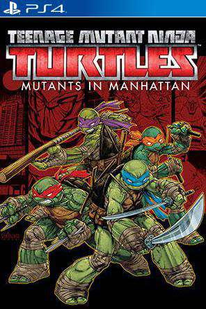 Teenage Mutant Ninja Turtles: Mutants in Manhattan, Game on PS4, Action