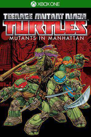 Teenage Mutant Ninja Turtles: Mutants in Manhattan Xbox One, Game on XBOXONE, Action
